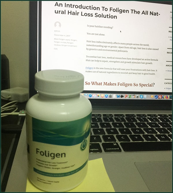 How Does Foligen Work?